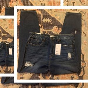 Forever 21 - Ripped Boyfriend Fit Jeans 31 - NWT